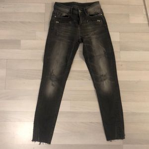 ZARA basic denim sz2